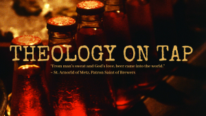 Theology on Tap @ St Anne's Hall | Auckland | Auckland | New Zealand