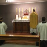 First Mass at Cole Place